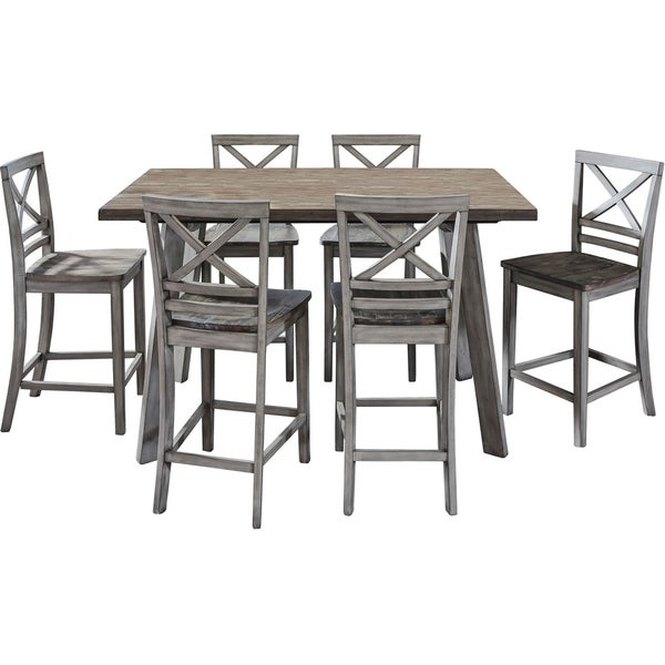 Shop Madrid 30 Inch Black Counter Height 3 Piece Dining