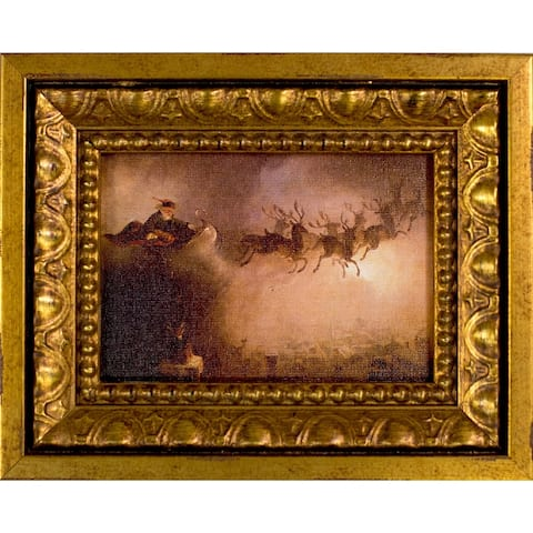 William Holbrook Beard 'Santa Claus' Pre-Framed Miniature