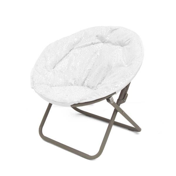 Incredible Shop Faux Fur Foil Cheetah Kids Saucer Chair On Sale Pabps2019 Chair Design Images Pabps2019Com