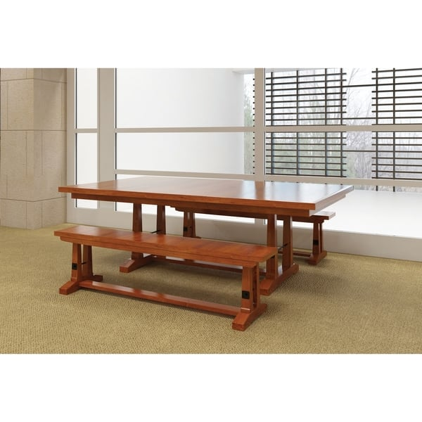 Carla Elizabeth Double Pedestal 6 Ft Dining Table W Two 18 Butterfly Leaves Overstock 25071061
