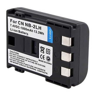 INSTEN Battery NB-2LH for Canon EOS Rebel XT/ S60/ 70/ 80