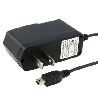 Insten Black PVC Home Travel Cell Phone Charger with IC Chip for Motorola Razr V3