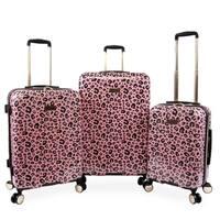 Juicy Couture Jane 3-pc Hardside Spinner Luggage Set