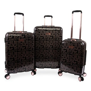 Juicy Couture Florence 3-pc Hardside Spinner Luggage Set