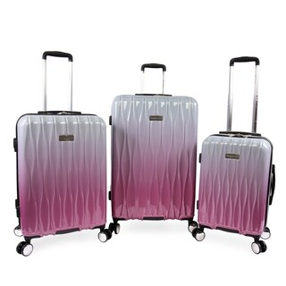 Juicy Couture Lindsay 3-pc Hardside Spinner Luggage Set