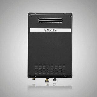Marey GA22ONG Natural Gas tankless water heater, outdoor unit