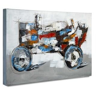 Farmboy O Painting on Canvas - Multi-color