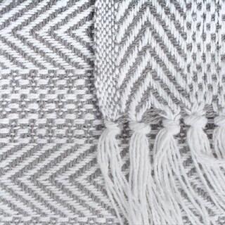 DII Herringbone Stripe Decorative Throw - Full
