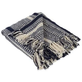 DII Braided Stripe Decorative Throw - Full