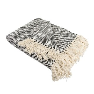 DII Handloom Chevron Decorative Throw - Full