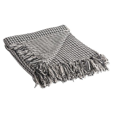 DII Woven Decorative Throw