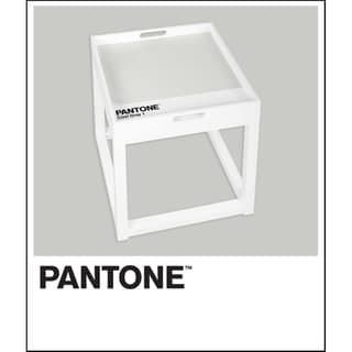 Pantone Side Table with Removable Tray
