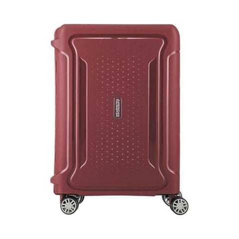 American Tourister Tribus 20in Carry-On Spinner Red