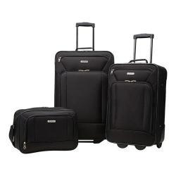 American Tourister Fieldbrook XLT 3-Piece Luggage Set Black