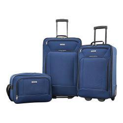 American Tourister Fieldbrook XLT 3-Piece Luggage Set Navy