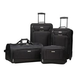 American Tourister Fieldbrook XLT 4-Piece Luggage Set Black