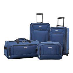 American Tourister Fieldbrook XLT 4-Piece Luggage Set Navy