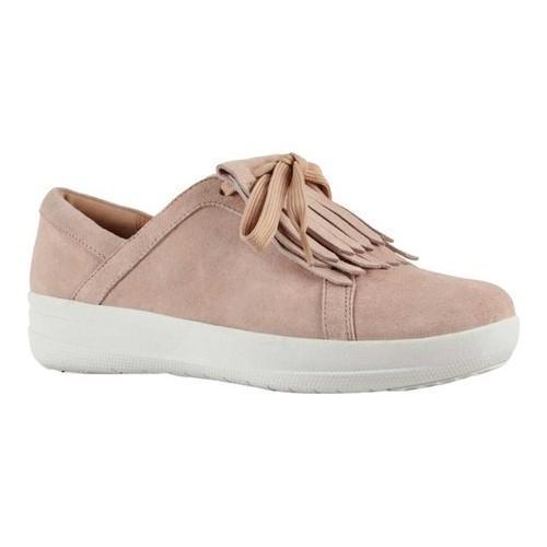 fd24e0006a9ec Shop Women s FitFlop F Sporty II Fringe Sneaker Dusky Pink Suede - Free  Shipping Today - Overstock - 21358779