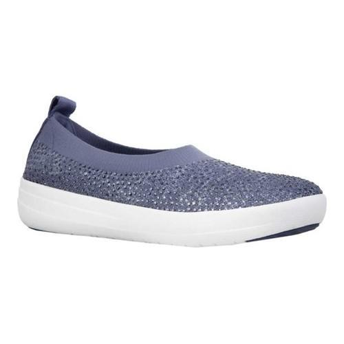 Quality Free Shipping Outlet Authentic Online FitFlop Uberknit Ballet Flat(Women's) -Berry Uberknit Clearance With Credit Card Cheap Sale Fast Delivery YY3AqchW