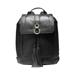 Women's Cole Haan Cassidy Backpack Black Pebble Leather