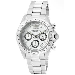 Invicta Men's 9211 Speedway Steel Chrono Watch|https://ak1.ostkcdn.com/images/products/251789/P924665.jpg?impolicy=medium