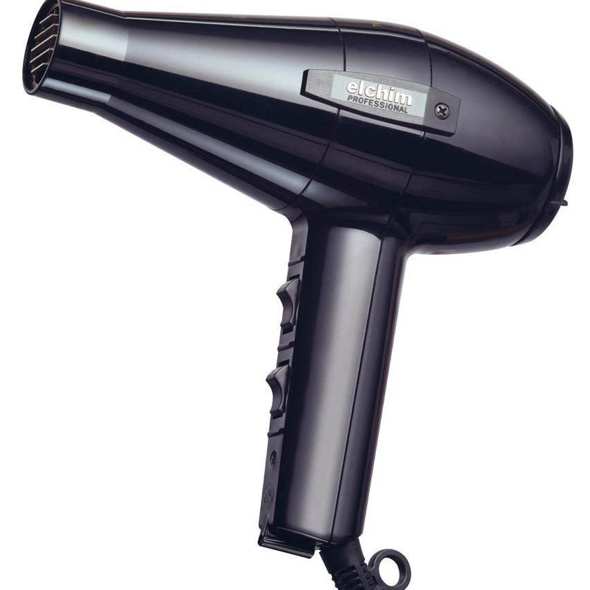 ELCHIM 2001 Professional Hair Dryer in Black (As Is Item)...