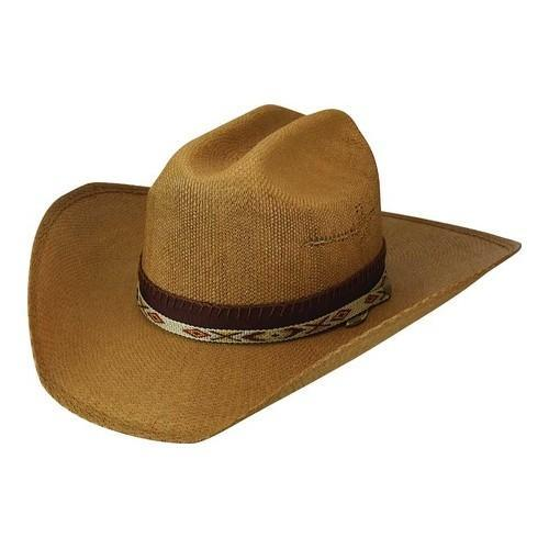 2fc258014ff Shop Men s Bailey Western Seminole Wide Brim Hat Tan - Free Shipping Today  - Overstock.com - 21429756