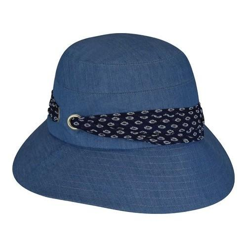 Shop Women s Betmar Camilla Bucket Hat Denim - Free Shipping On Orders Over   45 - Overstock - 21429764 e9945771a