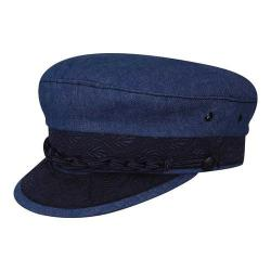 Men's Country Gentleman Cotton Greek Fisherman Cap Denim