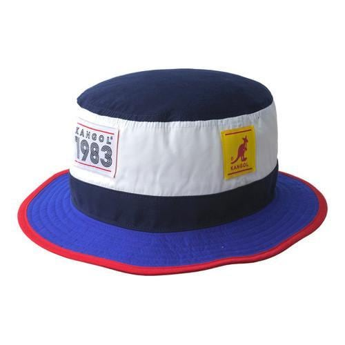 Shop Kangol 1983 Hero Bucket Hat Navy - Free Shipping Today - Overstock -  21430035 90807946e66