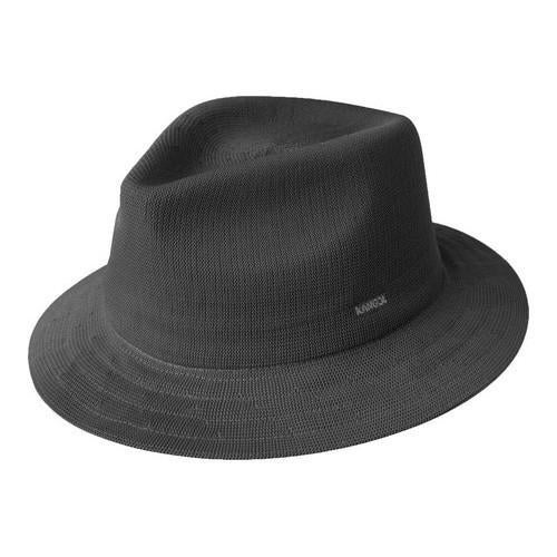 39d07d42 Shop Kangol Baron Trilby Charcoal - Free Shipping Today - Overstock ...