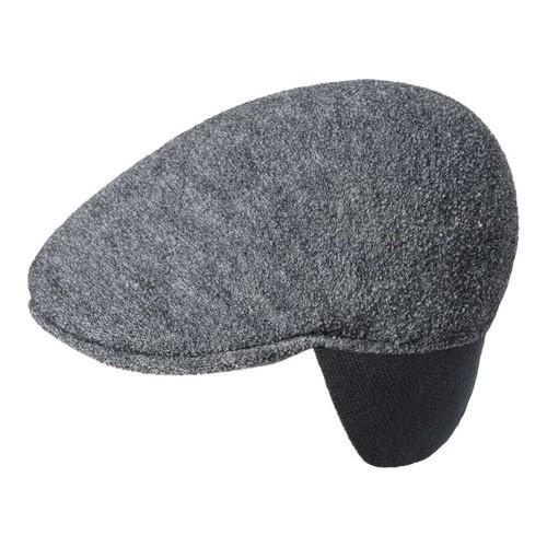 f21ebbb7712 Kangol Boiled Wool Earlap 507 Flat Cap Dark Flannel - Free Shipping Today -  Overstock.com - 27171902