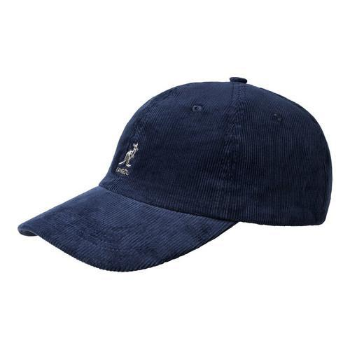 66d9512920f96 Shop Kangol Cord Baseball Cap Navy - Free Shipping On Orders Over  45 -  Overstock.com - 21430226