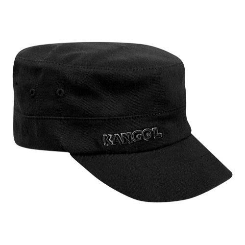 32868683 Shop Kangol Cotton Twill Army Cap Black - Ships To Canada ...