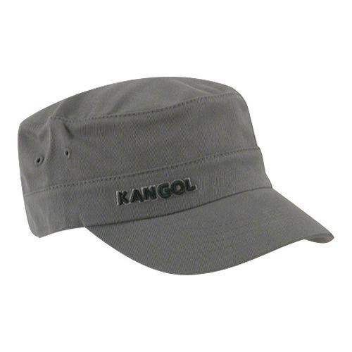 e967b8f54d325 Shop Kangol Cotton Twill Army Cap Grey - Free Shipping On Orders Over  45 -  Overstock - 21430262