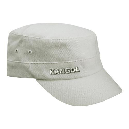 8fe0e72c828deb Shop Kangol Cotton Twill Army Cap White - Free Shipping On Orders Over $45  - Overstock - 21430264