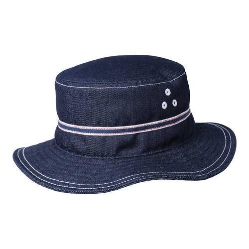 Shop Men s Kangol Denim Stitch Bucket Hat Indigo - Free Shipping On Orders  Over  45 - Overstock.com - 21430280 b82474eb099