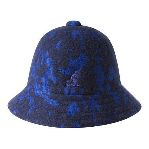 7a72e45a Shop Kangol Marbled Casual Bucket Hat Dark Blue/Ultramarine - Free Shipping  Today - Overstock - 21430501