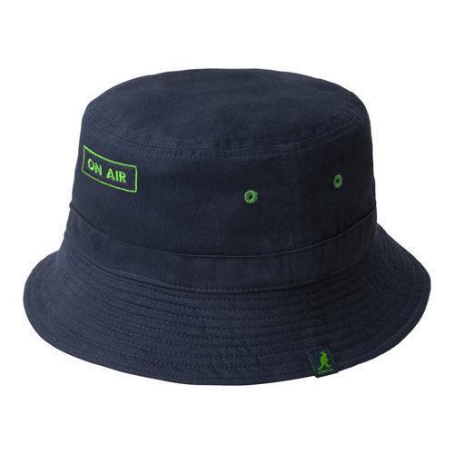 Shop Kangol Music Reversible Bucket Hat Navy Vert - Free Shipping On Orders  Over  45 - Overstock - 21430517 223dd6ed287