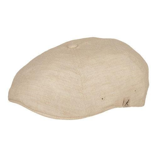 6112fd67658 Shop Kangol Plaid Flexfit 504 Newsboy Cap Natural Pinstripe - Free Shipping  On Orders Over  45 - Overstock.com - 21430573