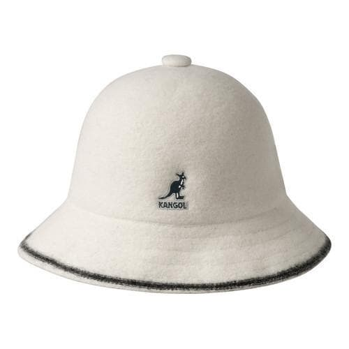 aaac59005e9 Shop Kangol Stripe Casual Bucket Hat Off White Black - Free Shipping Today  - Overstock - 21430669