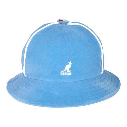d06317ec Shop Kangol Track Casual Bucket Hat Blue - Ships To Canada ...
