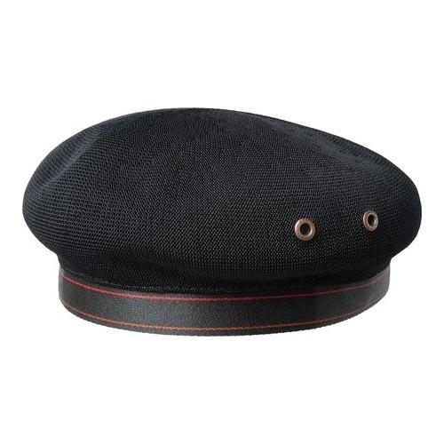 Shop Men s Kangol Tropic Beret Black - Free Shipping On Orders Over  45 -  Overstock.com - 21430783 06ae926ed11e