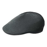 9b8364bfdf320c Shop Men's Kangol Tropic 507 Ventair Flat Cap Black - On Sale - Free ...