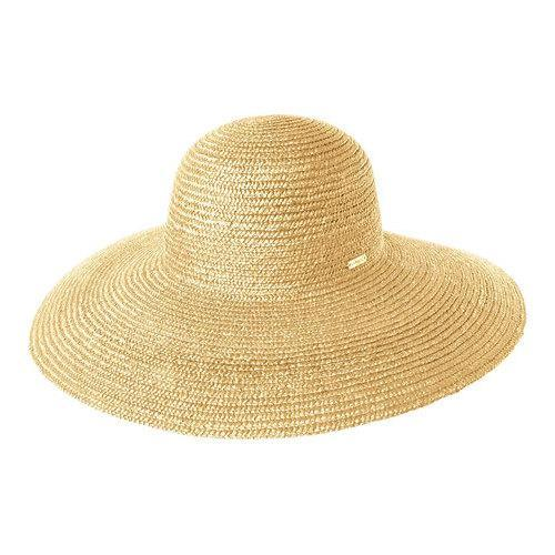 a833fdcd044dd Shop Kangol Wheat Braid Diva Sun Hat Natural - Free Shipping Today -  Overstock - 21430879