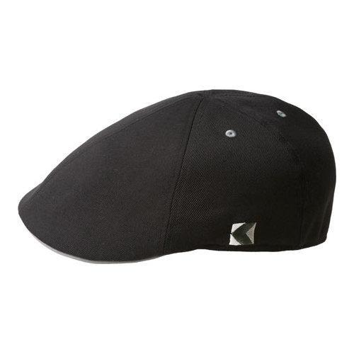 00f3e595244937 Shop Men's Kangol Wool 6 Panel Flexfit Flat Cap Black - Free Shipping On  Orders Over $45 - Overstock - 21430913