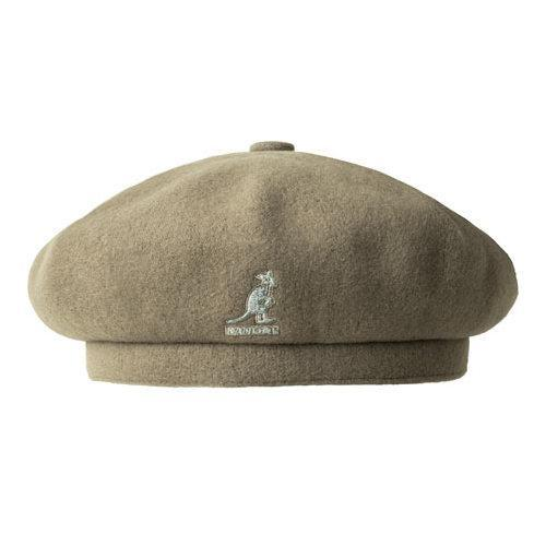 Shop Kangol Wool Jax Beret Concrete - Free Shipping Today - Overstock -  21430998 f682eb0d101