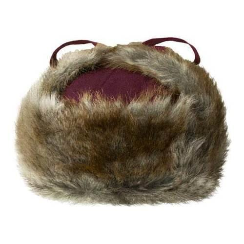 Shop Men s Kangol Wool Ushanka Trapper Hat Vino - Free Shipping Today -  Overstock - 21431035 7992d0f1f0a1