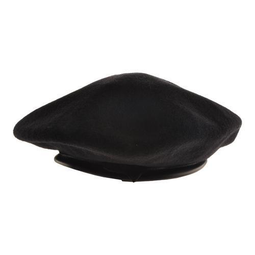 Shop Kangol Wool Monty Beret Black - Free Shipping On Orders Over ... 6181f7c2c072
