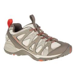 Women's Merrell Siren Hex Q2 Hiking Shoe Oyster Grey Leather